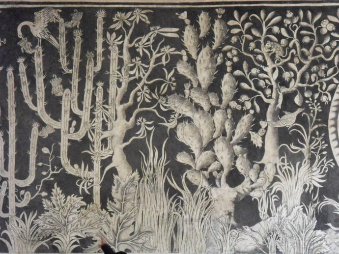Peintures murales Malinalco